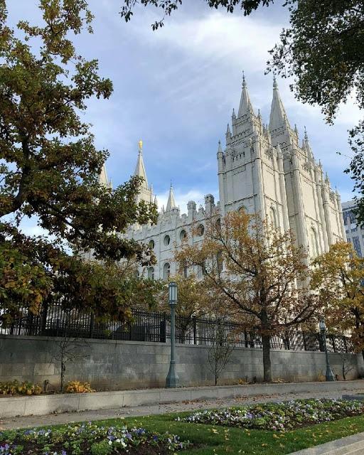 Eglise des Saints des derniers jours à Salt Lake City