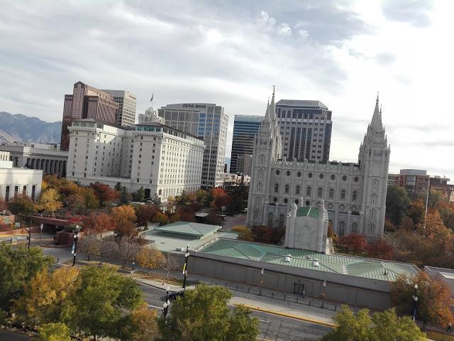 vue sur Salt Lake City