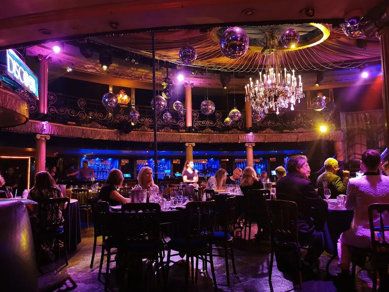 cabaret Café de Paris à Picadilly Circus Londres