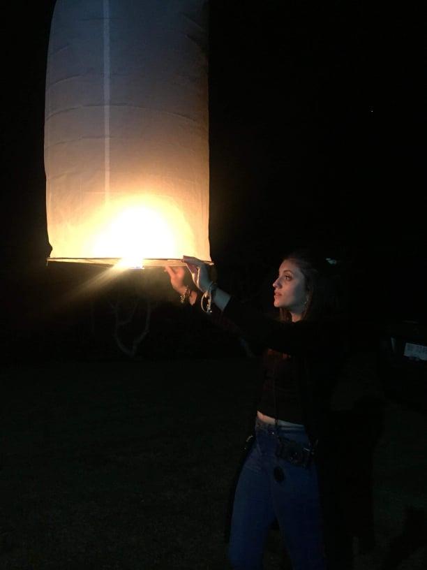 festival des lanternes Thaïlande