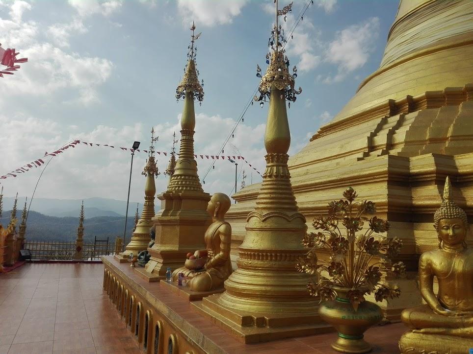 temple doré Thaïlande