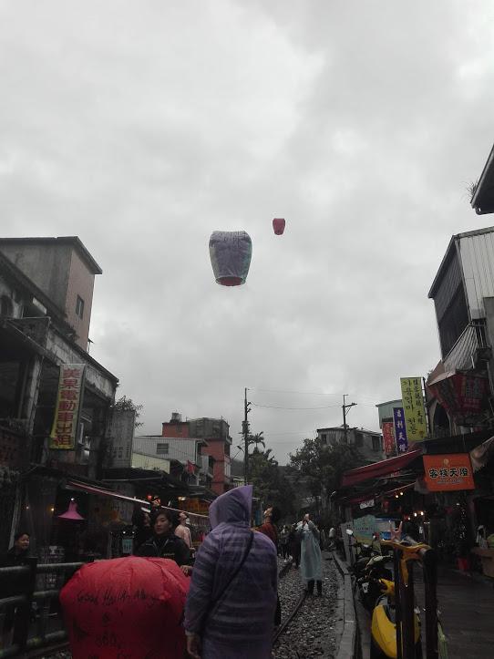 shifen lanternes Taïwan