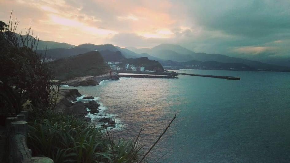 Yehliu paysage Taïwan
