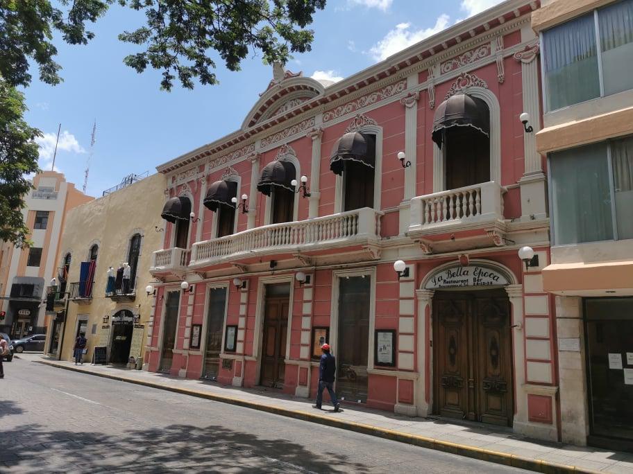 Ville de Mérida au Mexique