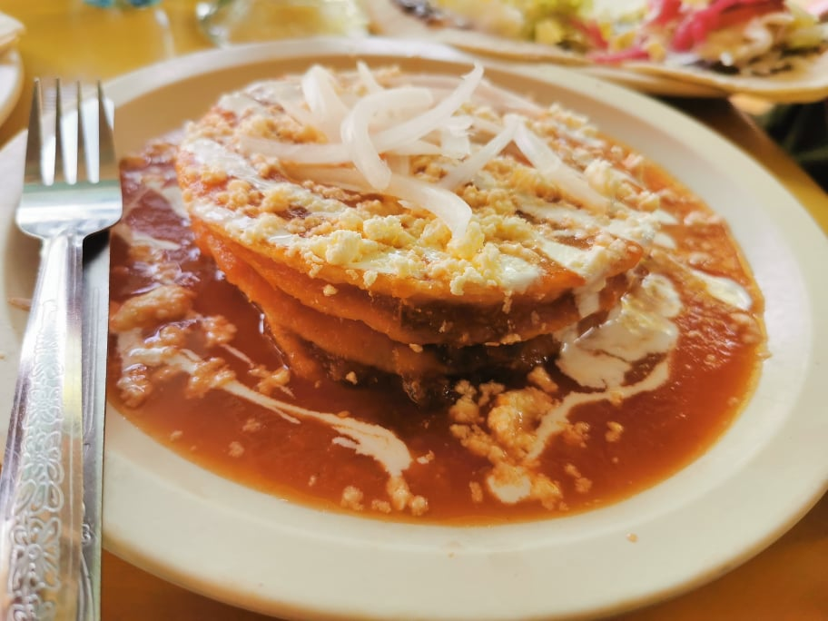 torre de tortillas