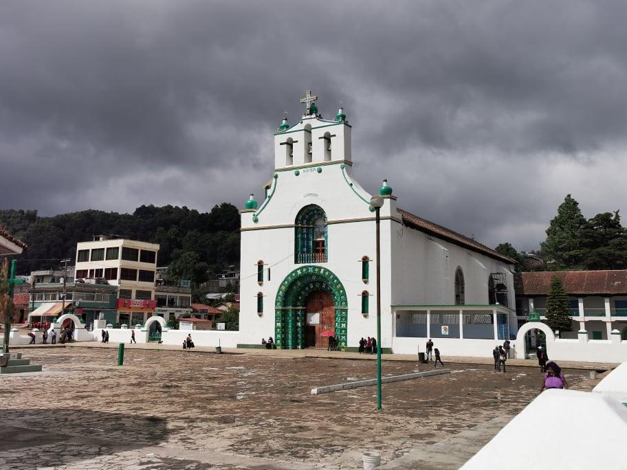 église san juan chamula mexique