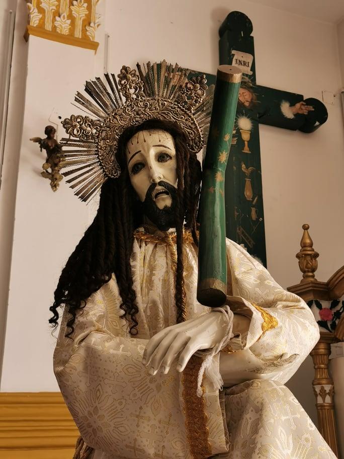 statue christ mexique