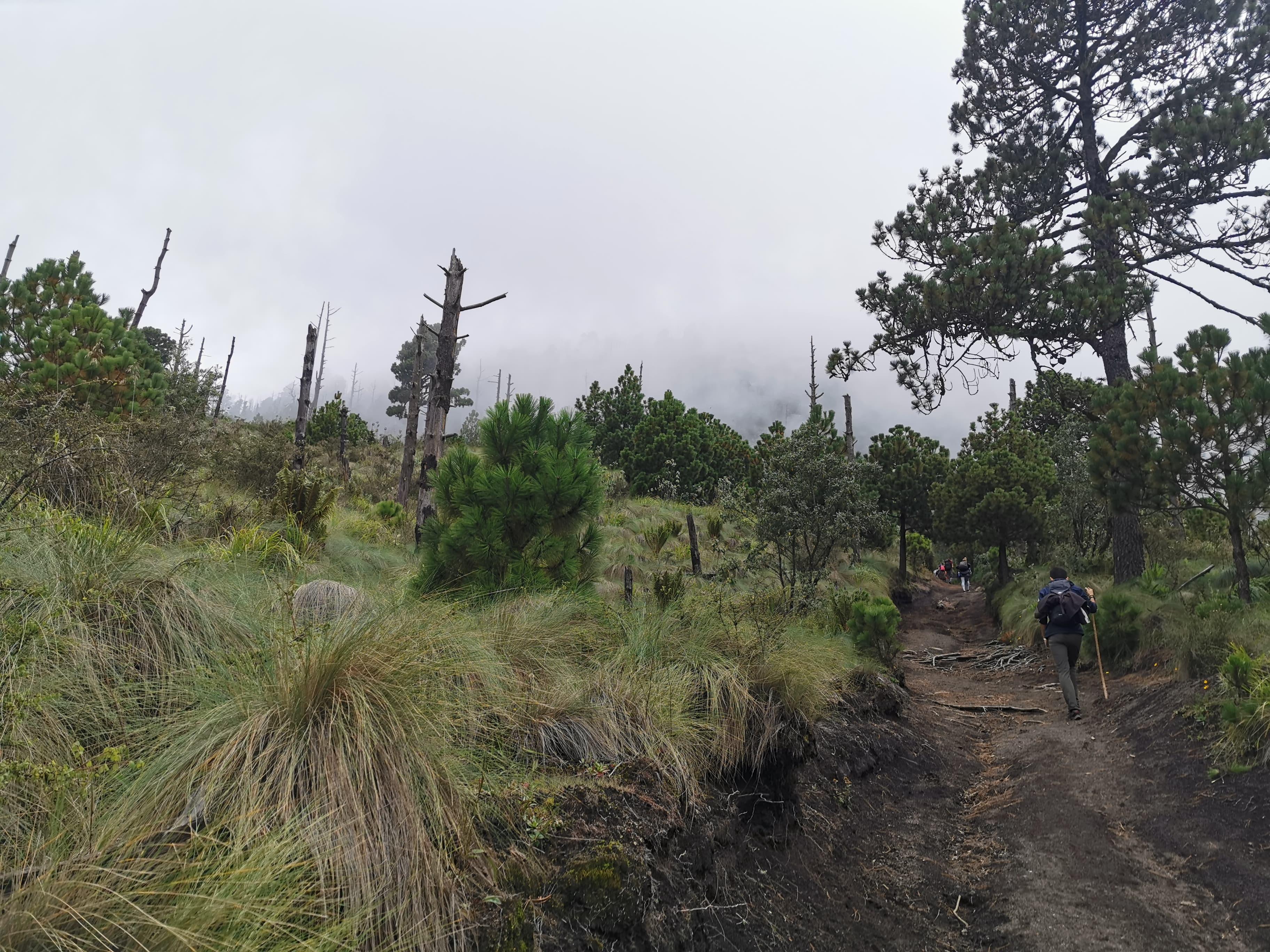 vue magnifiaue volcan guatemala