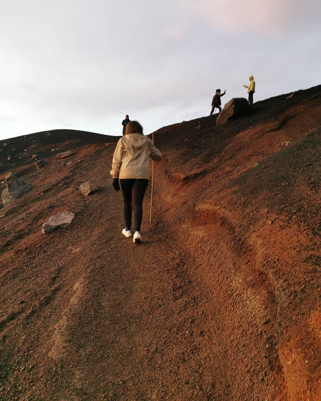 dernière montée du volcan guatemala