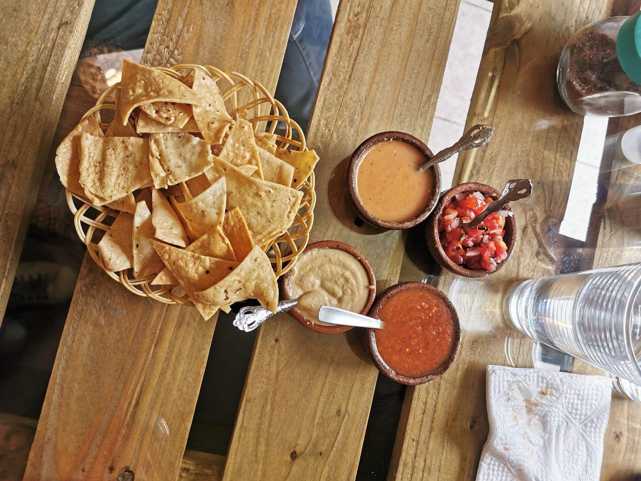 nachos sauce à la mangue