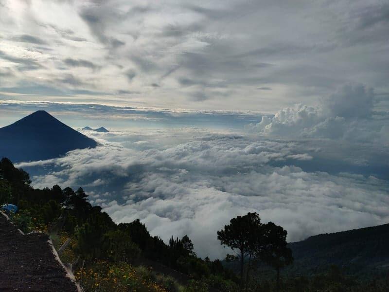 informations sur le volcan acatenango