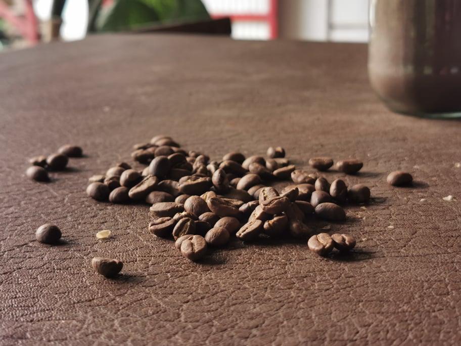 grains de café colombie