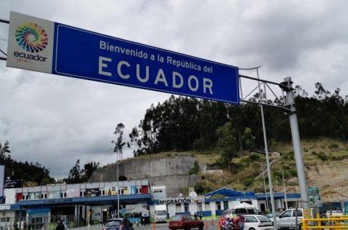 passer la frontière terrestre equateur colombie