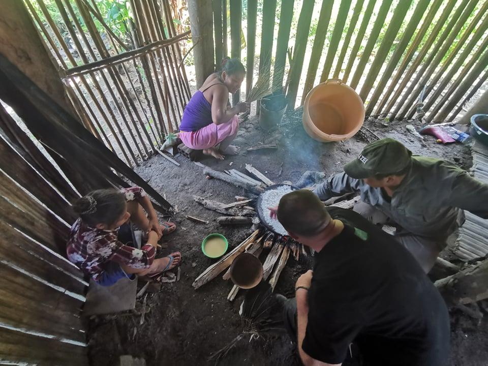 famille indigene amazonie
