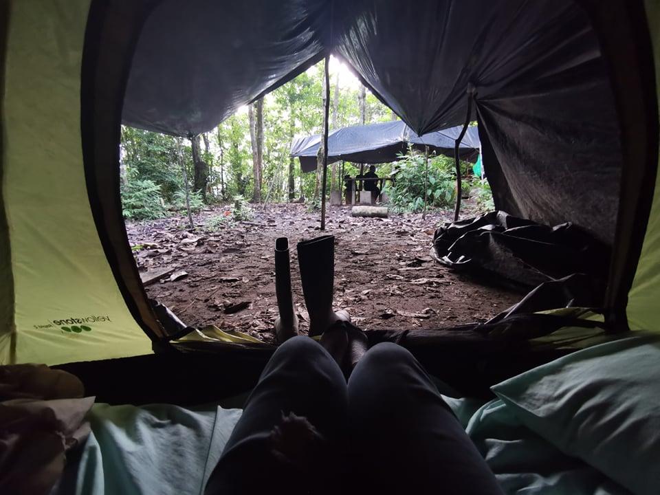 camping en amazonie