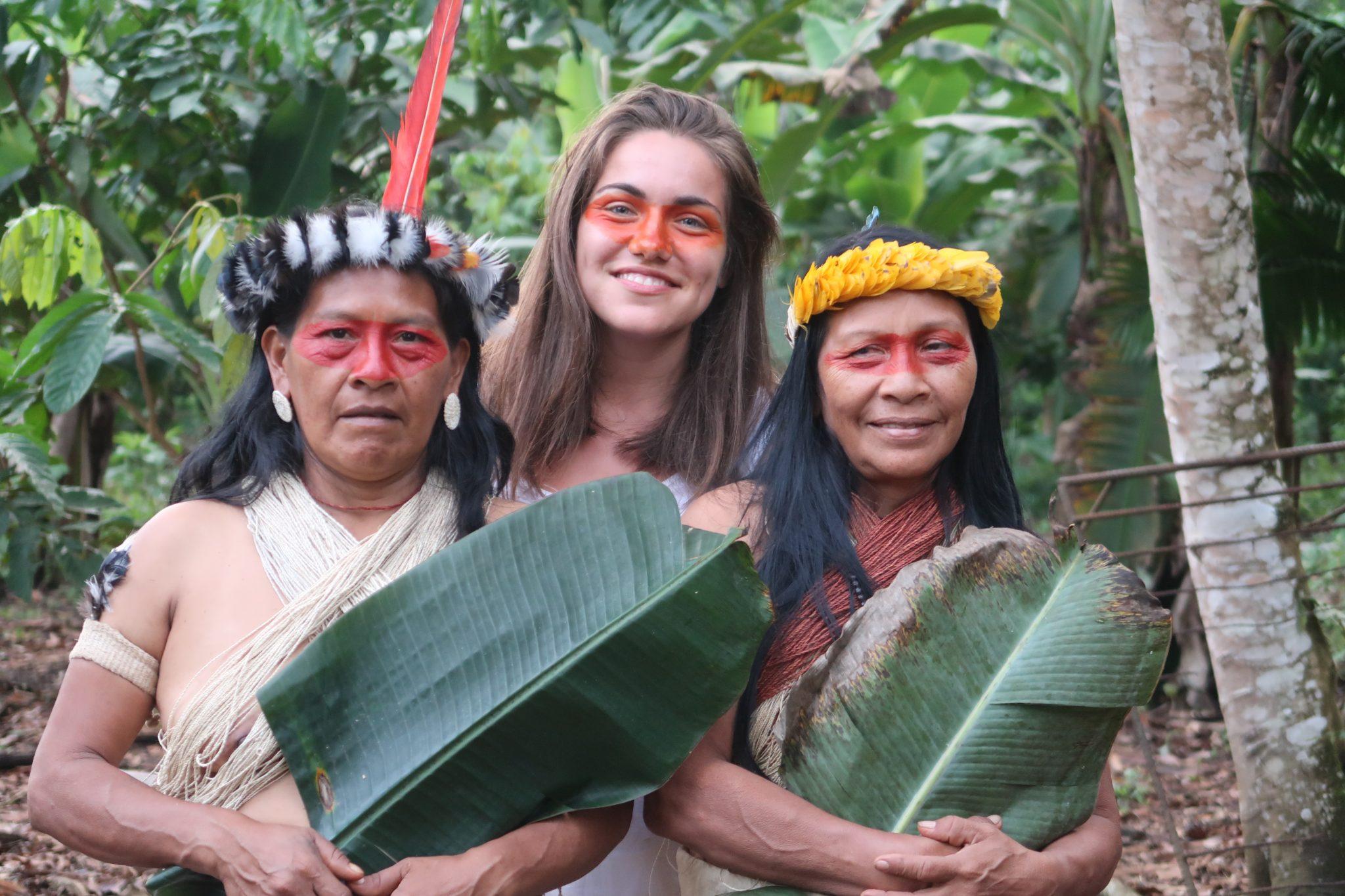 backpackeuse-amazonie
